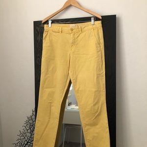 Yellow Chinos